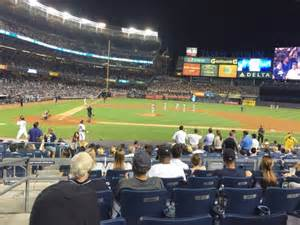 section 116 yankee stadium yankee stadium section 117a row 17 seat 16 new york