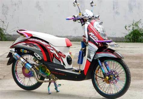 Standar Sing Mio Dan Scoopy modifikasi scoopy racing look mortech panduan