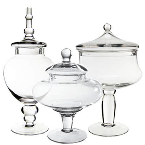 cheap glass jars for buffet buffet jars set of three 3 glass apothecary