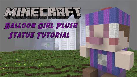 minecraft tutorial balloon girl jj plush  nights