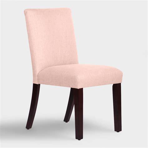 Linen Dining Chair Linen Kerri Upholstered Dining Chair World Market