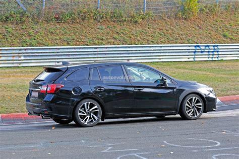 Subaru Levorg 2020 2020 subaru levorg chassis mule spied lapping the