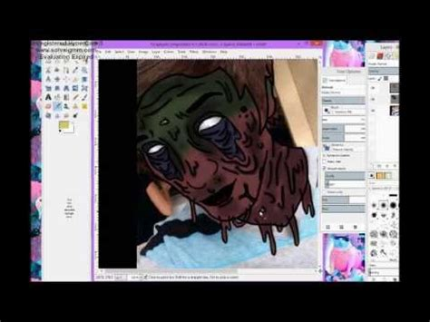 tutorial zombie edit full download gimp how to make a zombie speed up