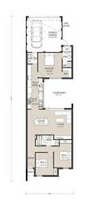 House Plans For Narrow Lots With Garage Centro Narrow Lot Rear Garage Plan Builder In Perth