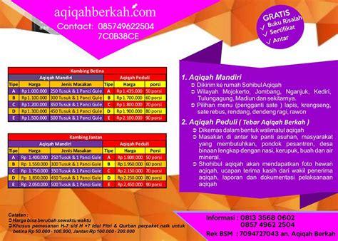 Paket Aqiqah Di Surabaya 1 aqiqah yogyakarta
