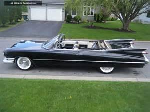 1959 Cadillac Convertible 1959 Cadillac Convertible 60 And 62 Eldorado Biarritz