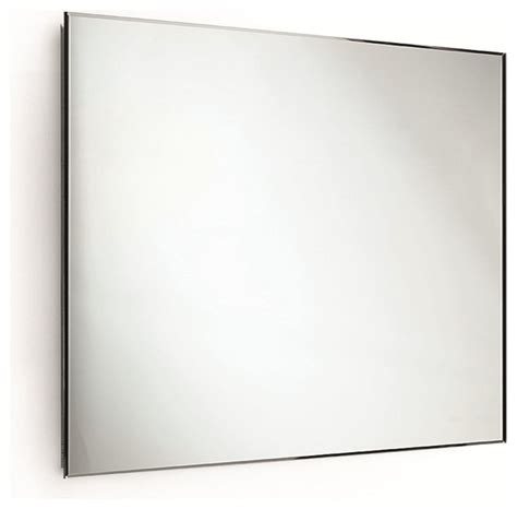 Horizontal Bathroom Mirrors by Speci Wall Frameless Rectangular Horizontal Bevelled 5mm