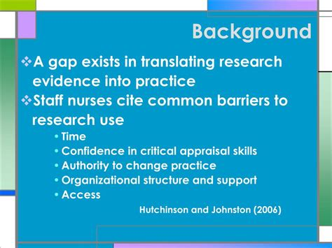 evidence based practice for nurses appraisal and application of research books ppt connecting the staff to research a nursing