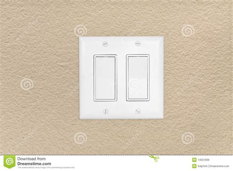modern light switch stock image image of volt wall