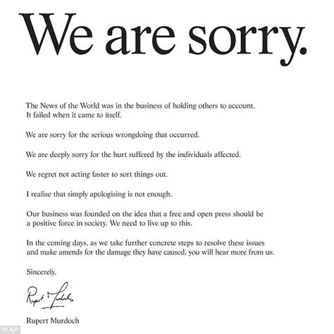 Apology Letter To Angry Friend File Rupert Murdoch Apology Letter Jpg Wikimedia Commons