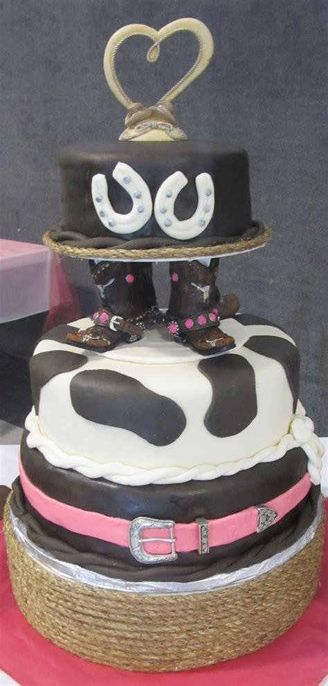 Western Wedding Cake   Cute things   Pinterest   Pastelitos