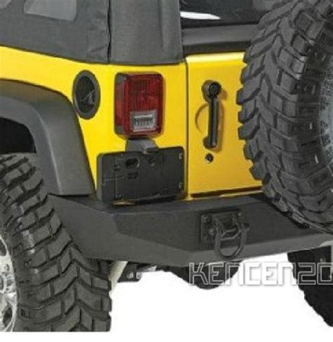Jeep Jk License Plate Holder For Jeep Wrangler Rear License Plate Holder Bracket Light