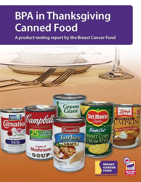 What Foods Detox Bpa by Bpa In Canned Food Food Justice For All Report On Bpa In