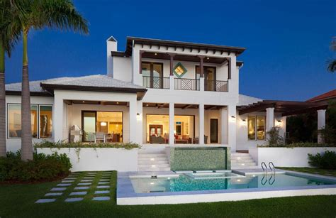 contemporary florida style home plans 2013 amerikan havuzlu villa modelleri villa modelleri 5069