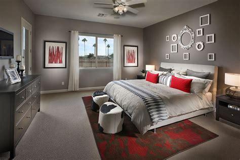 camere da letto arredate 15 idee per arredare la da letto in rosso e grigio