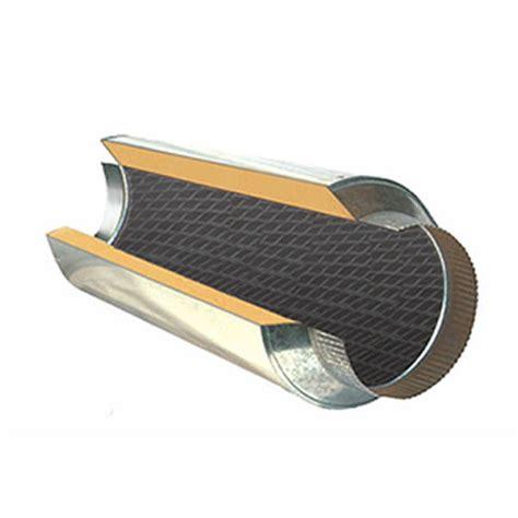 6 inch inline duct fan silencer noise reducer 6 in duct muffler suncourt scdm6