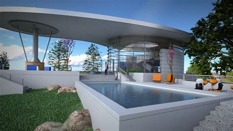 architectural rendering  rhino   ray