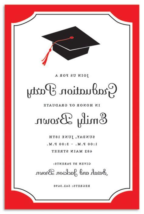 printable graduation invitation cards graduation announcement card printable various