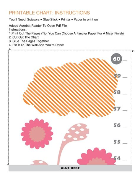 printable children s growth chart 30 best images about height charts on pinterest growth