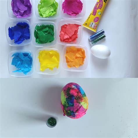 Plastikeier Bemalen Mit Kindern ostereier basteln mit kindern 3 einfache bastel ideen