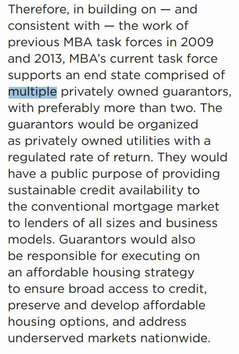 Gse Reform Mba by Fhfa Enters Gse Reform Debate With Counter Cyclical