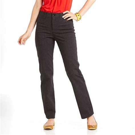 Gloria Vanderbilt Mona Comfort Waist Straight Leg Pants