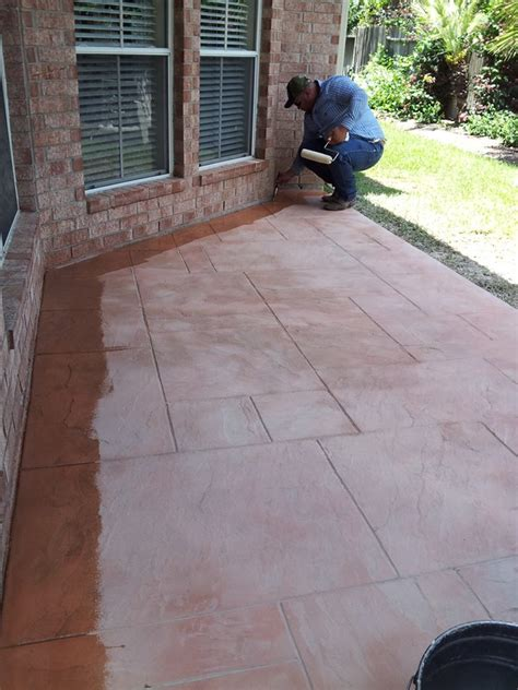 concrete sted patio contractor