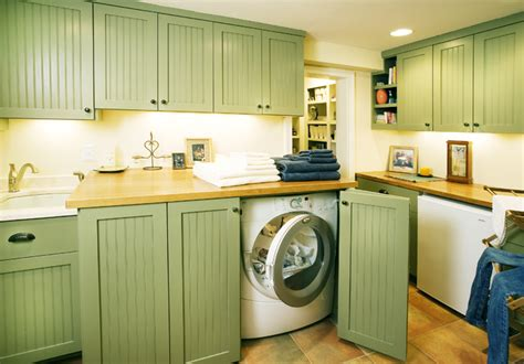 cabinet doors to hide washer and dryer laundry mudroom spaces traditional laundry room