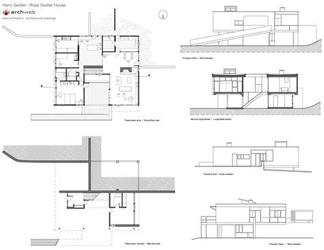 rose seidler house plan rose seidler house plan drawings