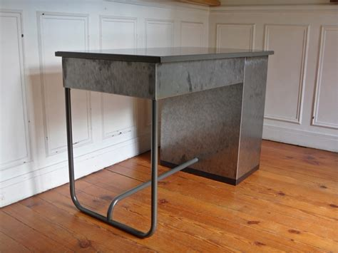 bureau vintage industriel bureau industriel en m 233 tal vintage steel desk style and