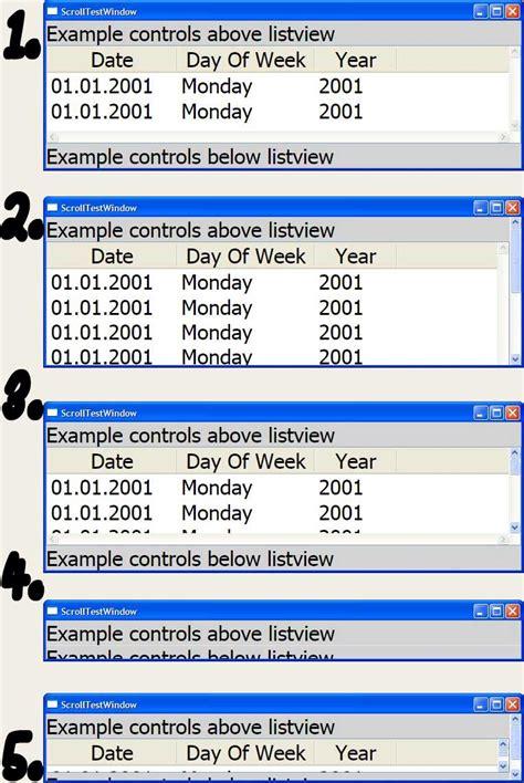xaml listview layout c wpf listview inside of scrollviewer layout question