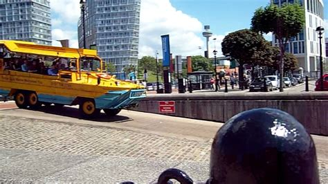car boat liverpool liverpool hibians car boat going into water youtube