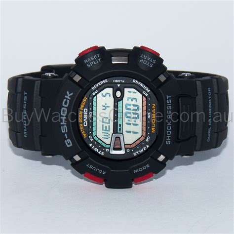 Casio G 9000 1vdr casio g shock mudman digital mens black g 9000 1vdr