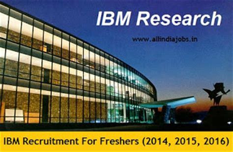 Ibm For Mba Freshers by Ibm Recruitment 2018 2019 Openings For Freshers