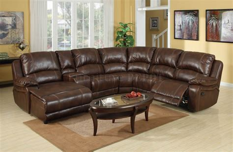 leather sectional sofa with recliner brown leather sectional sofa with recliner and coffee