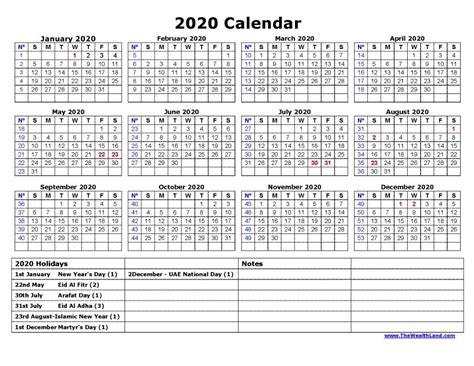 calendar  public holidays  uae ajman