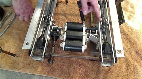 lincoln town car seat motor repair youtube 2000 ford explorer front seat track motor repair 1 youtube