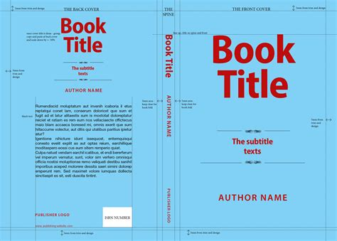cover page templates for books book cover design essentials designcontest