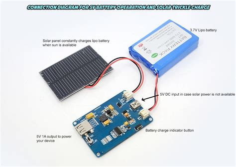 solar power supply for home tinyone lipo charger pro kit lipo solar charger 5vdc