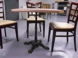 tables et chaises de restaurant occasion