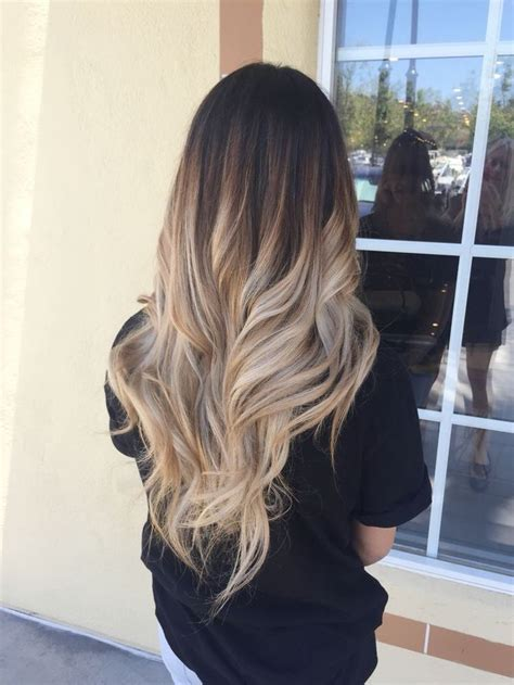 pictures of blondes who ombred their hair to have dark roots 60 trendy ombre hairstyles 2017 brunette blue red