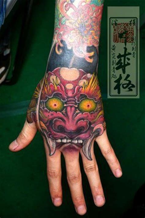japanese tattoo on hand japan tattoo hand tattoos pinterest japan tattoo