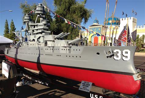 boat auctions arizona the uss arizona battle ship a 36 foot 1 20 scale model