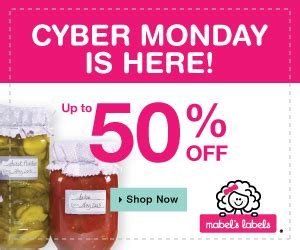 cyber monday bed bath and beyond mabel s labels cyber monday