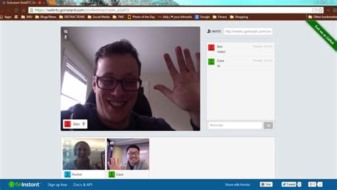 webrtc chat room goinstant makes and audio conferencing simple with webrtc real time api integration