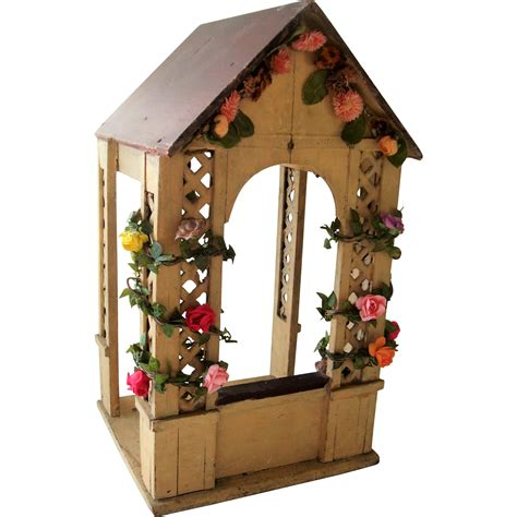 miniature gazebo miniature gazebo covered in flowers gottschalk from