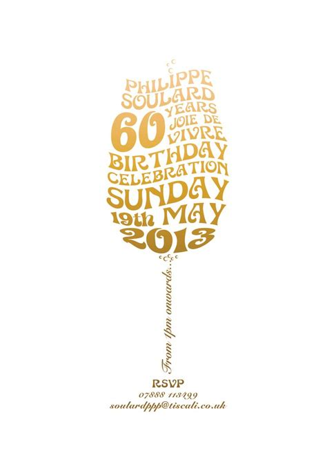gents on pinterest 60 pins 60th birthday invite partee 60 pinterest typography