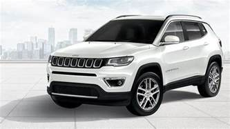 White Jeep Compass Jeep Compass India Specifications Features Colours Price