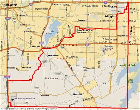 tarrant county map texas transit south non emergency and personal errands transport
