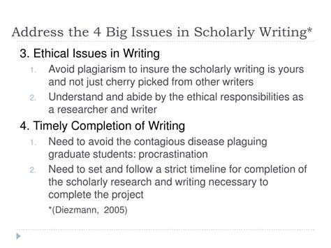 writing a scholarly paper ppt apa style and scholarly writing powerpoint